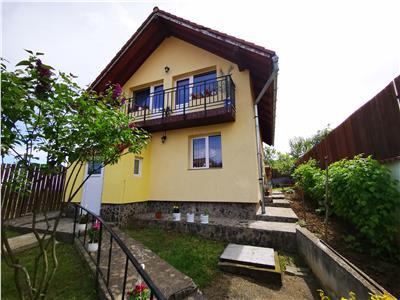 De vanzare casa constructie noua anul 2010 singur in curte cu 3 camere in Saliste langa Sibiu
